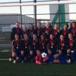 Girls soccer city champs