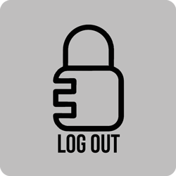 Logout-Button-Dark