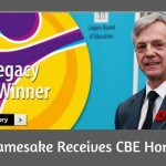 RTHS Namesake Receives Honour