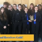Jazz Band receives gold