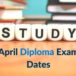April Diploma Exam Dates