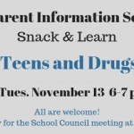 Parent Information Session teens and drugs