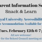 Snack and Learn Feb 12